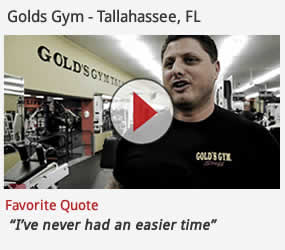 web club management software in use at golds gym tallahassee